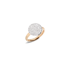 Bague Sabbia - Or Rose 18kt, Diamant