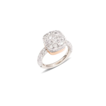 Ring Nudo Solitaire