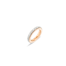 Ring Iconica - Rose Gold 18kt, Diamond