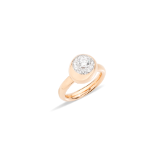 Ring Nuvola - Rose Gold 18kt, Diamond