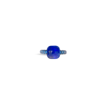 Ring Nudo Deep Blue