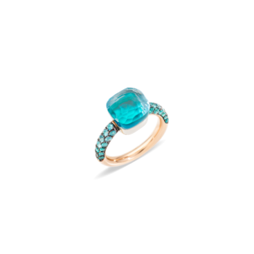 Bague Nudo Deep Blue