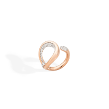 Fantina Ring - Rose Gold 18kt, Diamond