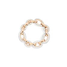 Catene Bracelet - Rose Gold 18kt, White Gold 18kt, Diamond