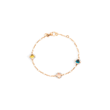 Bracelet M'Ama Non M'Ama - Rose Gold 18kt, Peridot, Adularia, Blue London Topaz