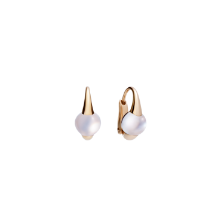 Earrings M'Ama Non M'Ama - Rose Gold 18kt, Adularia
