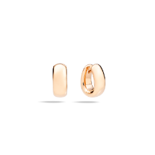 Earrings Iconica - Rose Gold 18kt