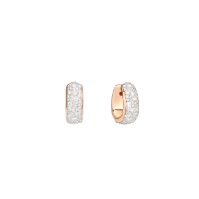 Iconica Bold Earrings - Rose Gold 18kt, Diamond