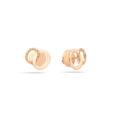 Orecchini Brera - Oro Rosa 18kt, Diamante Brown